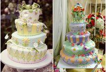 Gâteau de mariage Alice