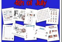 4th of july / by Becky Clina