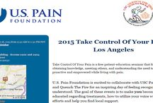 2015 Take control of your pain - Los Angeles / Take control of your pain is a free patient-education seminar that focuses on obtaining knowledge, meeting others, and understanding the need to become proactive and empowered while living with pain.