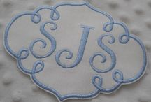AAA Monogram Patch for Wedding Dress