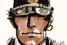 Cartoonist - Hugo Pratt