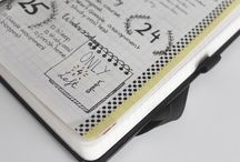 Bullet Journals / inspiration for bullet journal pages and styles