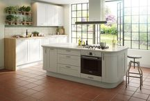 Curved Kitchens : 2015 trends / Curved kitchen units are the height of style, providing an ergonomic flow to a kitchen. Here, we've put together some of our favourite designs to help you with ideas for your dream kitchen. / by B&Q
