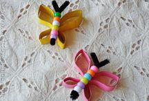 Nápady pro děti - motýli, vážky