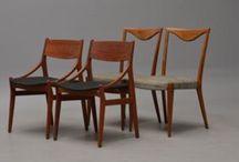 Vestervig Eriksen 2 chairs / http://www.lauritz.com/da/auktion/4-vestervig-eriksen-samt-dansk-moebelproducent-fire-spisestu/i4428897/#