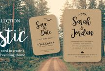 Stationery / Personalised Wedding Stationery. Including Save The Date Cards, Invitations, RSVP Cards, Menus and much more to complete the theme throughout your wedding day.