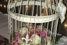 Esküvői munkáim virág és dekoráció