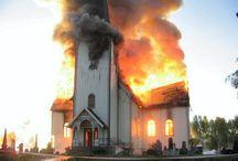 Burning Churches
