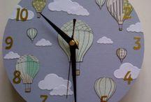 My Clocks / Hand Decorated Clocks