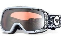 Ski/snowboard helm en bril