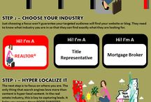 Real Estate SEO and Digital Marketing / Infographics on the real estate vertical