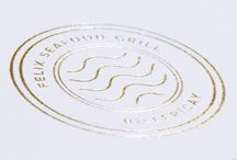 Felix Seafood Grill - Branding / Felix Seafood Grill, Billericay, branding designed by DesignLSM. Photography (c) Julian Ward