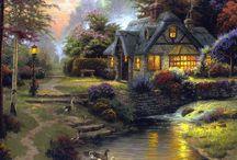домики для картин