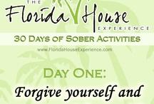30 Days of Sober Activities