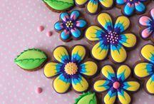 Blommetjie koekies
