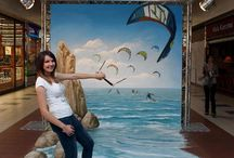 3D Wall Paintings / 10 most popular 3D Street wall paintings in the World.
