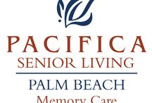 Pacifica Senior Living Palm Beach / Located in Greenacres, FL, Pacifica Senior Living Palm Beach offers full-service memory care programs, providing a warm, inviting and familiar environment for residents with Alzheimer's disease and other forms of dementia. Our community focuses on programs that help individuals with memory loss to thrive while managing the issues of dementia.