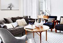 living room remake. / ideas