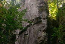 Kamenné tváře/ Stone faces