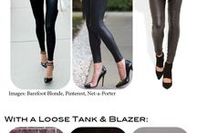How to wear (p)leather leggings
