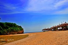 Drini Beach / From Yogyakarta City, Indonesia