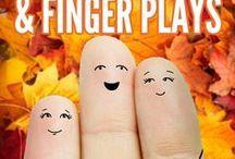 Kindergarten Finger Plays
