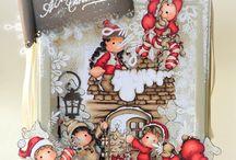 magnolia stamps christmas