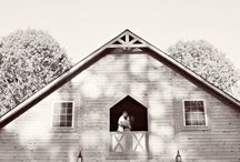 The Barn at Sierra Vista / Handcrafted entirely of pine tongue and groove and western red cedar.  This large beauty is the perfect place for your wedding reception!
