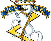 REME / Royal Electrical and Mechanical Engineers.