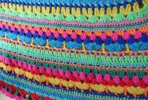 DIY - crochet - omslagdoeken e.d.