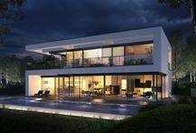 Nytt hus utside