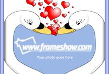 I Love You photo frame/e-cards / In this board you can find a collection of I Love You photo frames and e-cards to decorate your images and send e-cards to your loving ones.