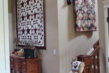 Decorating with quilts/ Patchwork we wnętrzu