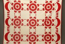 Quilts - new and old / Antique quilts, along with more modern art quilts utilitarian quilts.