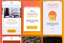 Mobile application theme