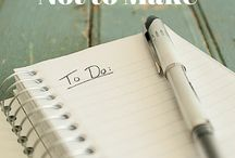 To Do list's