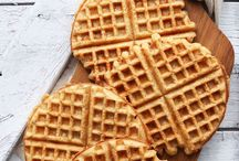 Waffle and breakfast love