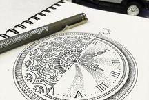 Mandalas idées dessins