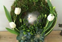 Dentelle & Brocante - Compositions florales / Mes compositions florales