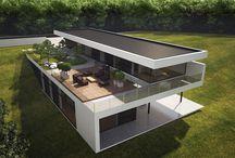 diseño casas campestres modernas
