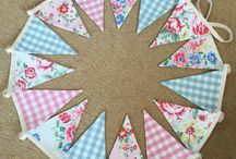 Bunting / Bunting for children's rooms and parties