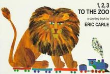 Eric Carle / Books and materials available for check out at Sherill Library. Click on images to check out materials.
