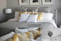bedrooms / by Kathleen Hames