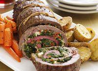 Stuffend meat