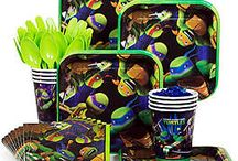 Teenage Mutant Ninja Turtles Party / Have a totally cool birthday party with our Teenage Mutant Ninja Turtles party supplies, decoration ideas and more!