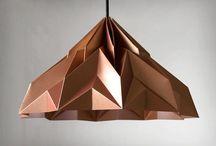 абажура оригами