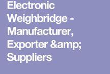Electronic Weighbridge - Manufacturer, Exporter & Suppliers
