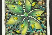 mandala zentangel Doodle
