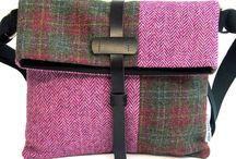 Harris Tweed väska