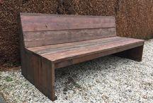 Scaff  board sofa